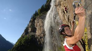 Klettersteig-Villach-Via Ferrata to Fallbach Waterfall, near Fischertratten-1