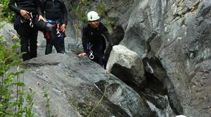 Canyoning-Spanish Catalan Pyrenees-Berros Gorge in the Spanish Pyrenees, near Llavorsi-6