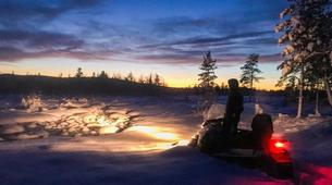 Snowmobiling-Kiruna-Snowmobile excursions in Kiruna-1