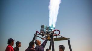 Montgolfière-Nyaungshwe-Hot air balloon flight over Inle Lake-3