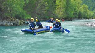 Rafting-Lechtal-Miniraft adventure on the river Lech in Tyrol-4
