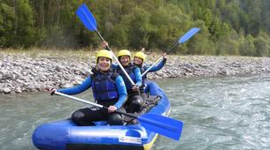 Rafting-Lechtal-Miniraft adventure on the river Lech in Tyrol-2