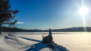 Motoneige-Kiruna-Snowmobile excursion to ICEHOTEL from Kiruna-2