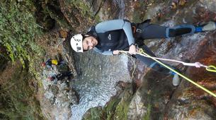 Canyoning-Arriondas-Canyoning at La Molina gorge in Picos de Europa National Park-5