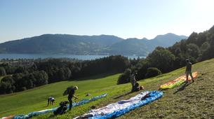 Paragliding-Tegernsee-Paragliding course at the Tegernsee in Southern Germany-6