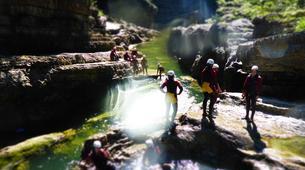 Canyoning-Berchtelsgadener Land-Canyoning tour in the Almbachklamm, Berchtesgaden-4