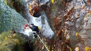 Canyoning-Arriondas-Canyoning at La Molina gorge in Picos de Europa National Park-3