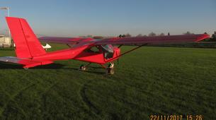 Microlight flying-Lille-Microlight initiation flight near Lille-6