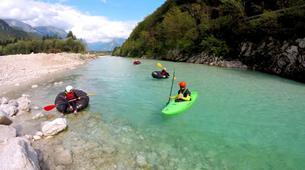 Rafting-Bovec-Tubing on the Soča River, Slovenia-1