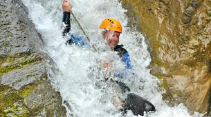 Canyoning-Lechtal-Advanced Canyoning in the Lechtal in Tyrol-6