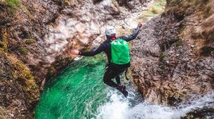 Canyoning-Bled-Extreme Canyoning in the Soča Valley, near Bled-3