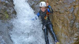 Canyoning-Lechtal-Family Canyoning in the Lechtal in Tyrol-6