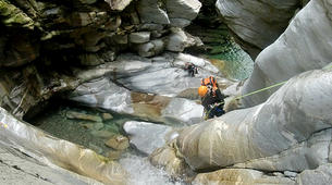 Canyoning-Lechtal-Advanced Canyoning in the Lechtal in Tyrol-2