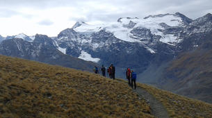 Randonnée / Trekking-Bonneval-sur-Arc, Haute Maurienne-Randonnée hors des sentiers dans les Cols de Haute Maurienne-3