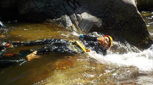 Canyoning-Prades-Canyon de Molitg à Molitg-les-Bains, La Castellane-2