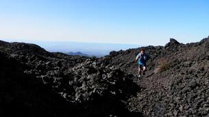Randonnée / Trekking-Mount Etna-Hiking to the Summit of Montagnola (2,640m), Mount Etna-6