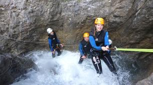 Canyoning-Lechtal-Family Canyoning in the Lechtal in Tyrol-1