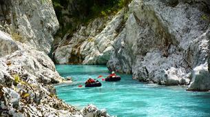 Rafting-Bovec-Tubing on the Soča River, Slovenia-4