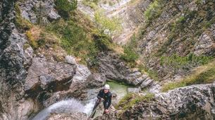 Canyoning-Bled-Extreme Canyoning in the Soča Valley, near Bled-4