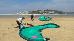 Kitesurf-Peniche-Semiprivate Kitesurfing lessons in Obidos Lagoon near Peniche-3