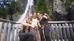 Klettersteig-Villach-Via Ferrata to Fallbach Waterfall, near Fischertratten-3