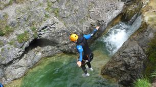 Canyoning-Lechtal-Advanced Canyoning in the Lechtal in Tyrol-3