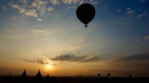 Montgolfière-Bagan-Vol en montgolfière au dessus du site archéologique de Bagan-7