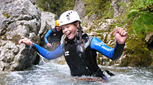 Canyoning-Lechtal-Family Canyoning in the Lechtal in Tyrol-4
