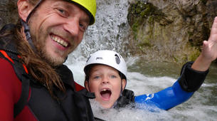 Canyoning-Lechtal-Family Canyoning in the Lechtal in Tyrol-3