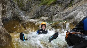 Canyoning-Lechtal-Beginners Canyoning in the Lechtal in Tyrol-2