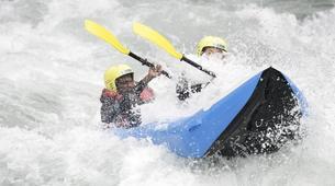 Rafting-Lac de Serre-Ponçon-Descente de la Durance en Cano-raft à Embrun-6