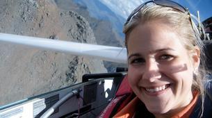 Gliding-Omarama-Valley Explorer flight in the Southern Alps from Omarama-5