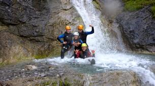 Canyoning-Lechtal-Family Canyoning in the Lechtal in Tyrol-2