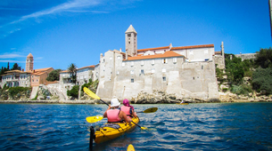 Kayak de mer-Rab-Sea kayaking excursion in Rab Island, Croatia-5