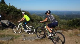 Mountain bike-Meyrignac-l'Église-Descente du Suc au May en VTT, Corrèze-1