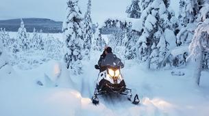 Motoneige-Kiruna-Snowmobile excursion to ICEHOTEL from Kiruna-5