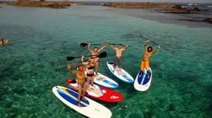 Kitesurfing-Corralejo, Fuerteventura-SUP group courses in Corralejo, Fuerteventura-1