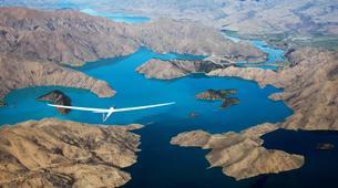 Gliding-Omarama-Valley Explorer flight in the Southern Alps from Omarama-1