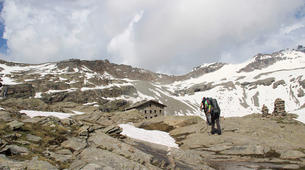 Randonnée / Trekking-Bonneval-sur-Arc, Haute Maurienne-Randonnée hors des sentiers dans les Cols de Haute Maurienne-1