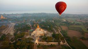 Montgolfière-Bagan-Vol en montgolfière au dessus du site archéologique de Bagan-5