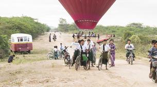 Hot Air Ballooning-Bagan-Vol en montgolfière au dessus du site archéologique de Bagan-3
