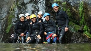 Canyoning-Spanish Catalan Pyrenees-Berros Gorge in the Spanish Pyrenees, near Llavorsi-5