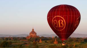Hot Air Ballooning-Bagan-Vol en montgolfière au dessus du site archéologique de Bagan-5
