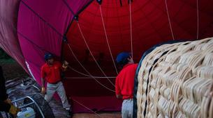 Montgolfière-Nyaungshwe-Hot air balloon flight over Inle Lake-2