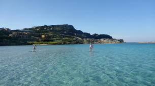 Stand up Paddle-Platamona-SUP lessons in Northern Sardinia-1