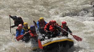 Rafting-Berchtelsgadener Land-Rafting on the Saalach river, Bavaria-6
