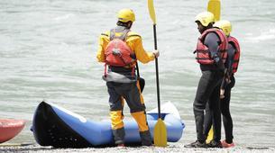 Rafting-Lac de Serre-Ponçon-Descente de la Durance en Cano-raft à Embrun-1