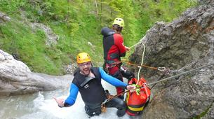 Canyoning-Lechtal-Beginners Canyoning in the Lechtal in Tyrol-5