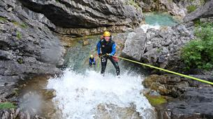 Canyoning-Lechtal-Advanced Canyoning in the Lechtal in Tyrol-1