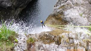 Canyoning-Lechtal-Advanced Canyoning in the Lechtal in Tyrol-5